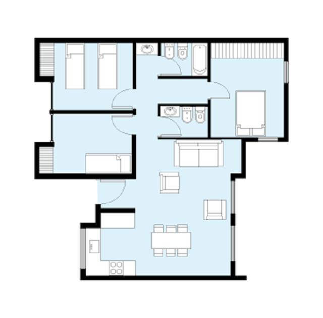 Plano de casa de 80 m2 planos de casas gratis y - Planos faciles de casas ...