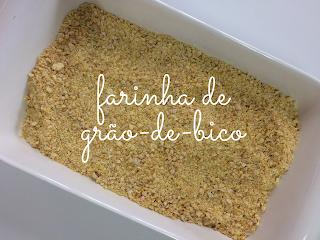 homemade chickpeas flour
