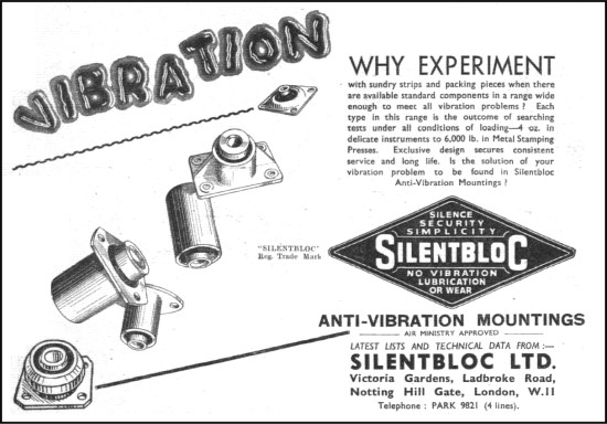 Silentbloc old ads
