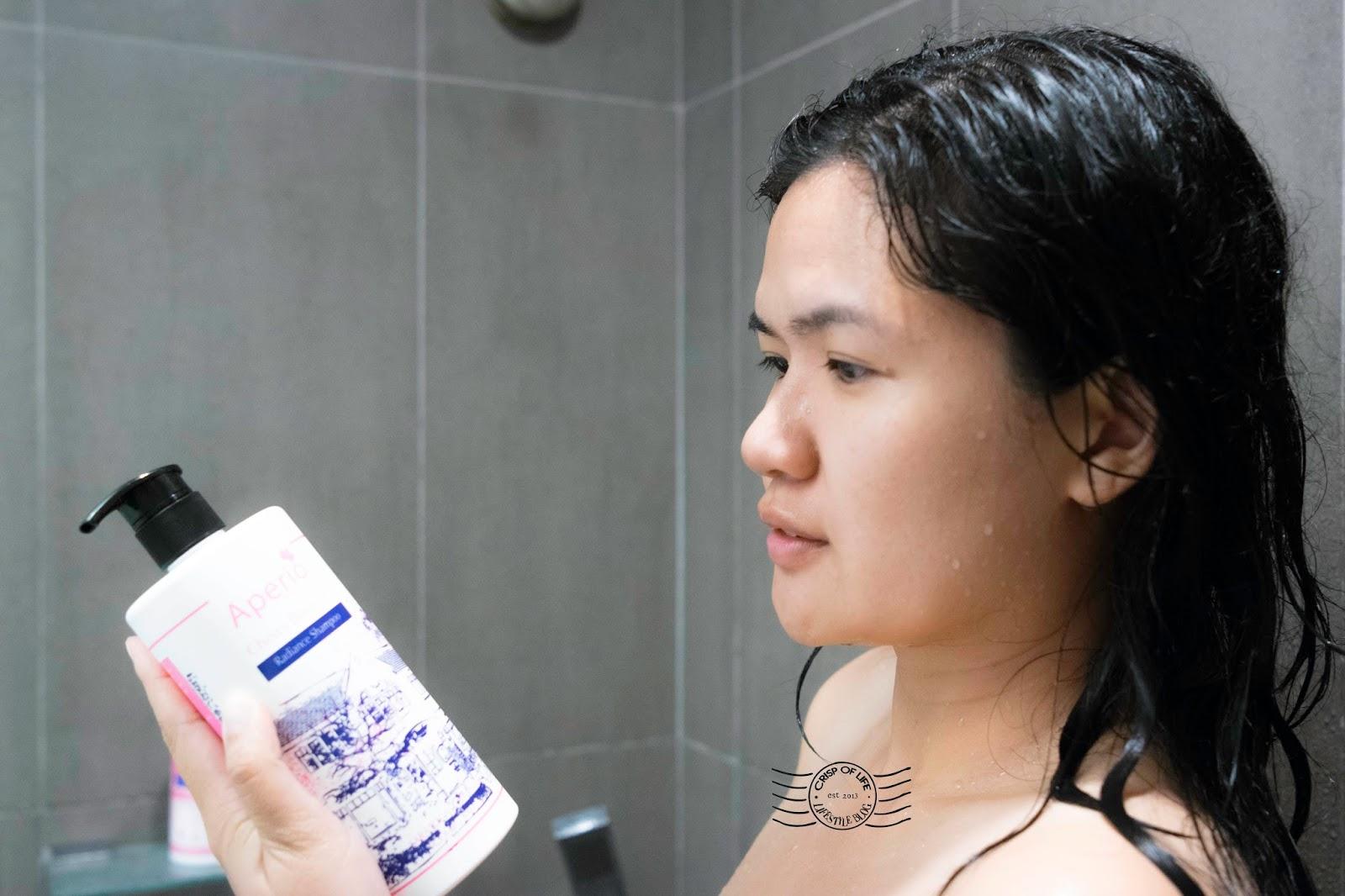 Aperio Cherry Blossom Hair Shampoo & Defense Leave in Conditioner