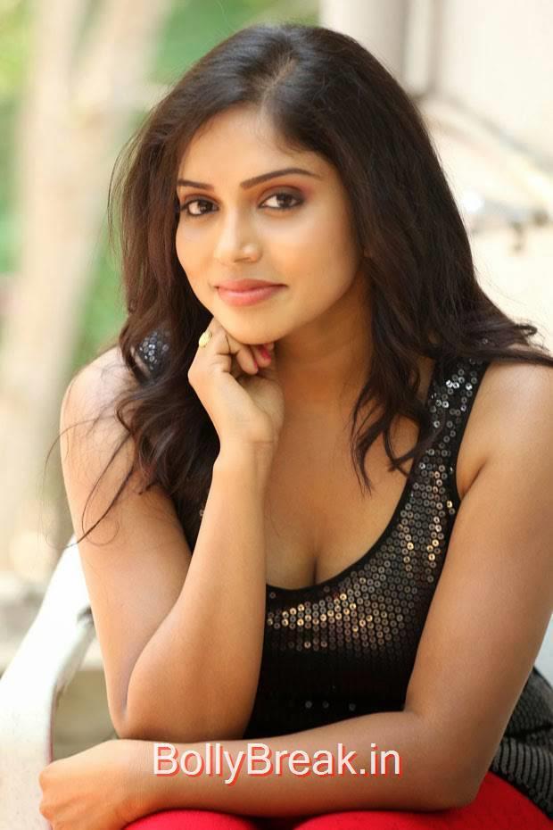 Karunya Photos, Actress Karunya Hot Pics  in Black Top