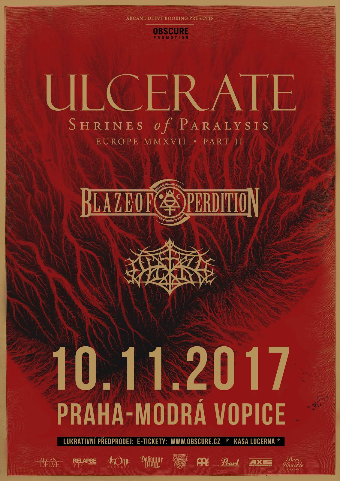 10. 11. - Ulcerate, Blaze Of Perdition, Outre