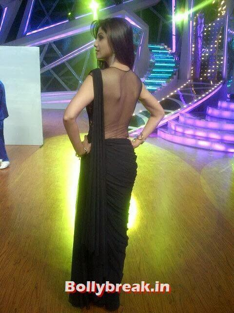 Shilpa Shetty nude back saree, Shilpa Shetty in Backless Saree on DID - Latest Pics