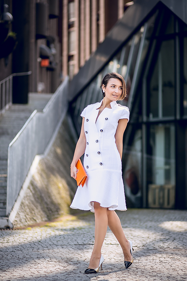 Oksana Tandit dress