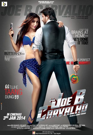Poster Of Mr Joe B Carvalho 2014 Hindi 720p DVDRip ESubs Free Download Watch Online