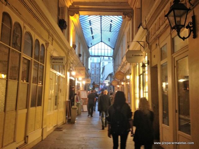 pasajes y galerías de París