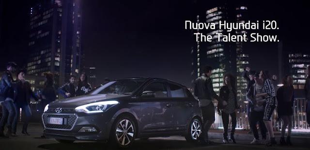 Canzone Pubblicità Hyundai i20 (Talent Show)