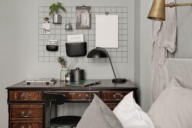 birou in dormitor