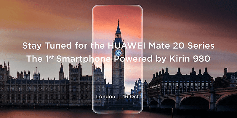 IFA 2018: Huawei will launch the Mate 20 on October 16 in London!