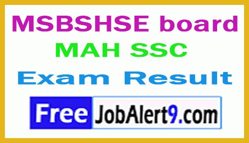 Maharashtra SSC Exam Result
