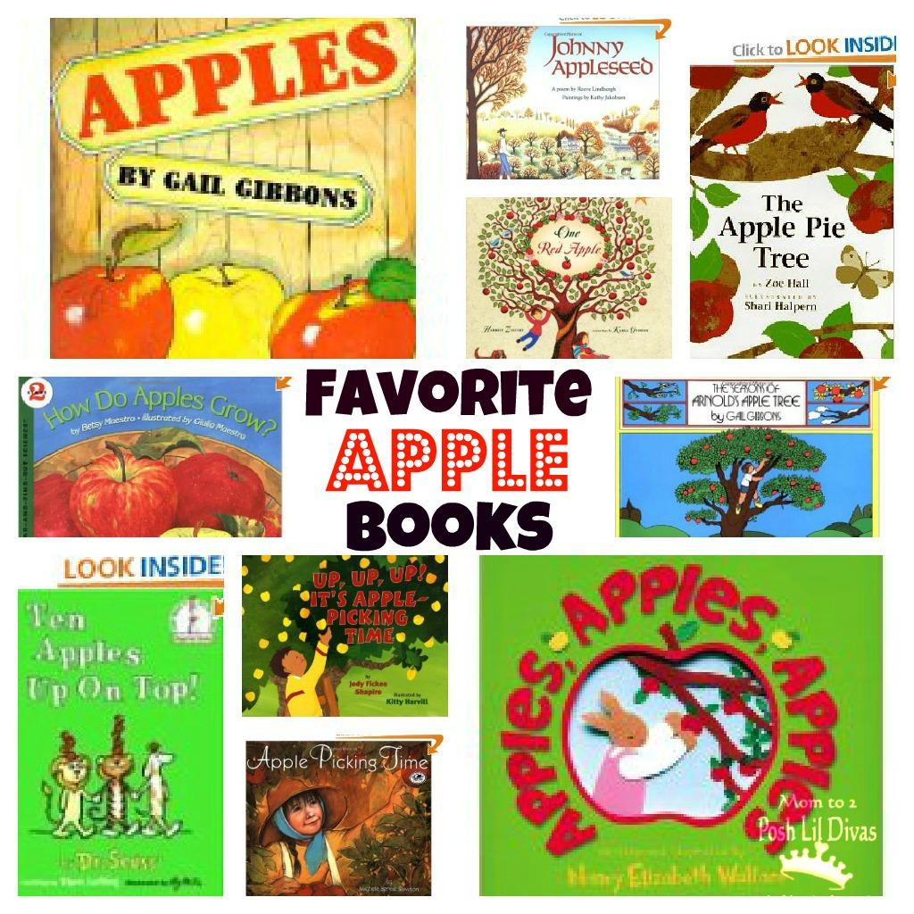 Favorite Apple Themed Books For Kids