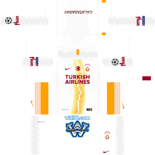 Galatasaray 2018 2019 Şampiyonlar Ligi forma url, Galatasaray dream league soccer kits url,dream football forma kits Galatasaray