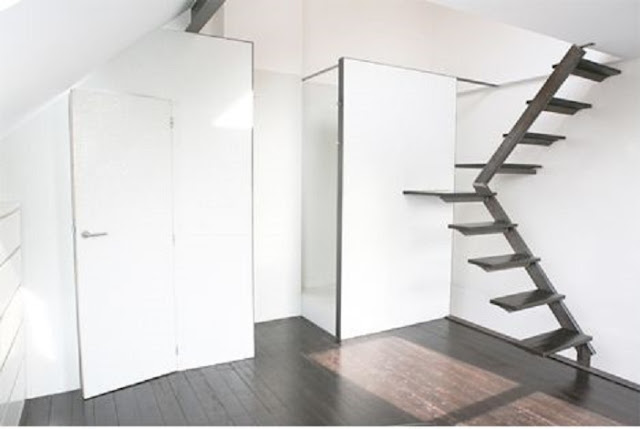 creative metal staircase ideas for small spaces