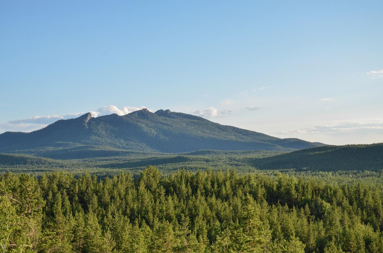 Боровое. Вид с горы. Казахстан