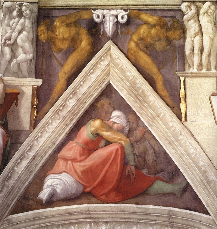Michelangelo Buonarroti 1475-1564 | Antenati di Cristo