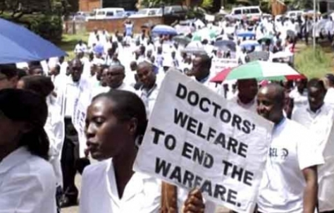 Doctors Begin 5-Day Warning Strike Today