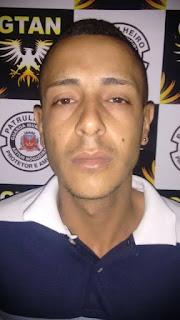 Após denuncias, Grupamento Tático da Guarda Civil de Artur Nogueira detém elemento com drogas no Parque Palmeiras