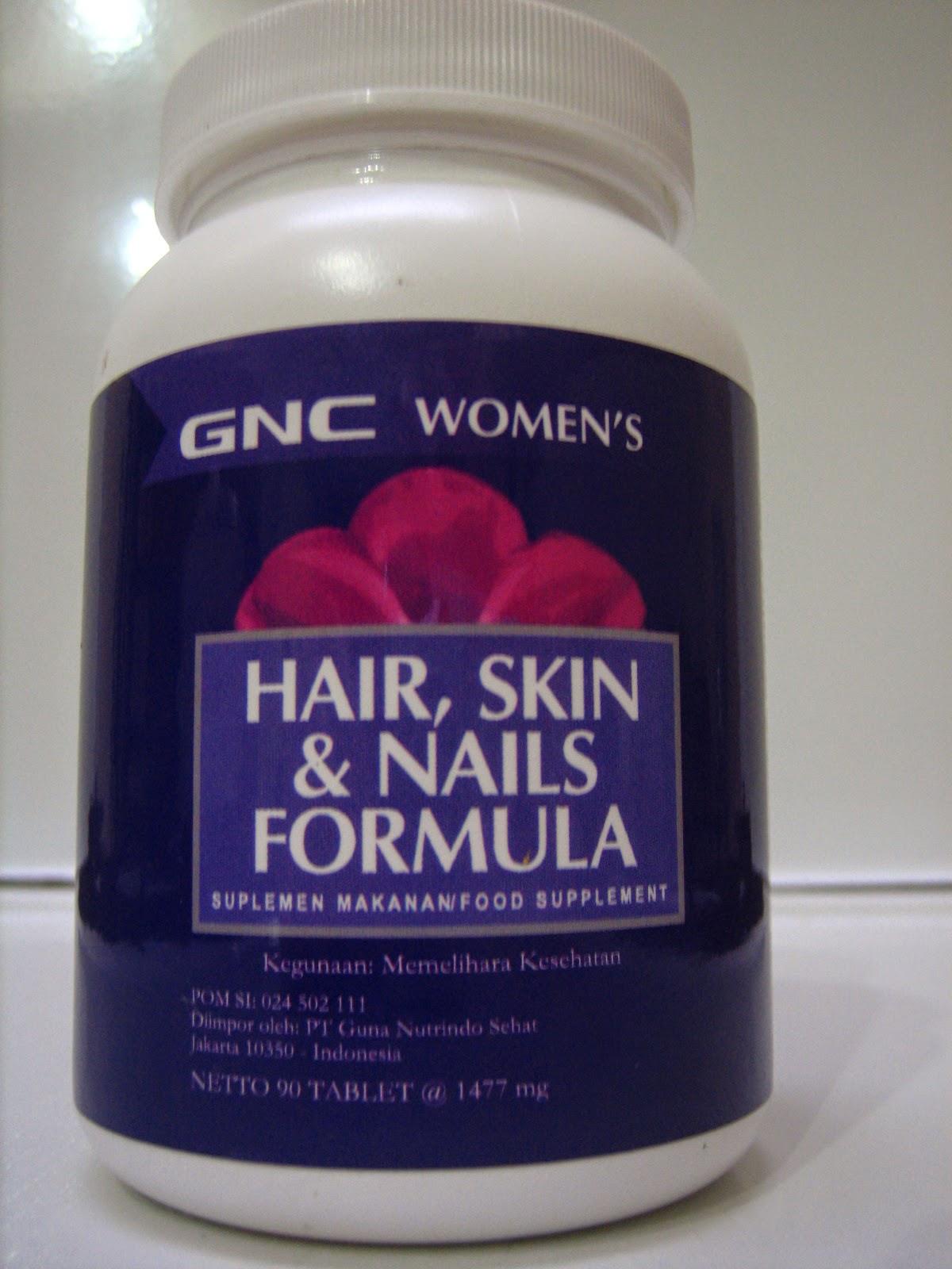 Gnc Women S Hair Skin Nails Formula