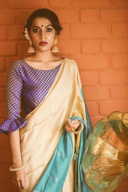 85bc7892237bf 50+ Trendy Saree Blouse Sleeve Styles to try this wedding season ...