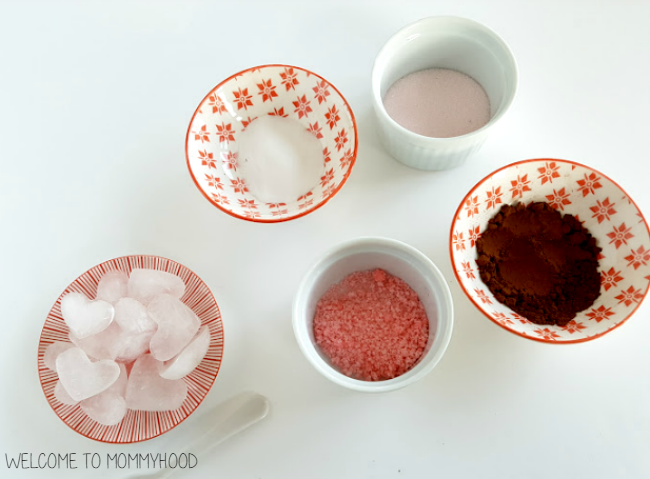 Valentine's Day Activities by Welcome to Mommyhood: Will it melt the heart? experiment #preschoolactivities, #toddleractivities, #kindergartenactivities, #scienceactivities, #science, #valentinesday