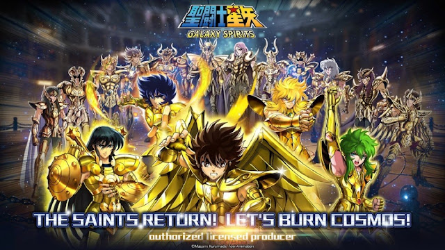 Review GAME Saint Seiya Galaxy Spirits CBT Android