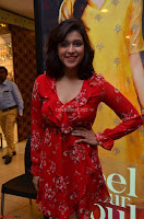 Mannara Chopra in deep neck Short red sleeveless dress Cute Beauty ~  Exclusive Celebrities Galleries 106.JPG