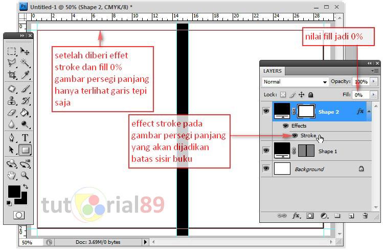 Cara membuat cover buku dengan photoshop (update)