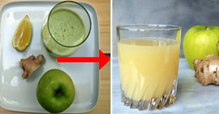 Mix Ginger, Apple And Lemon To Eliminate The Pounds Of Toxins From Your Body