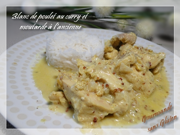 Gourmande Sans Gluten Blanc De Poulet Curry Moutarde Avec