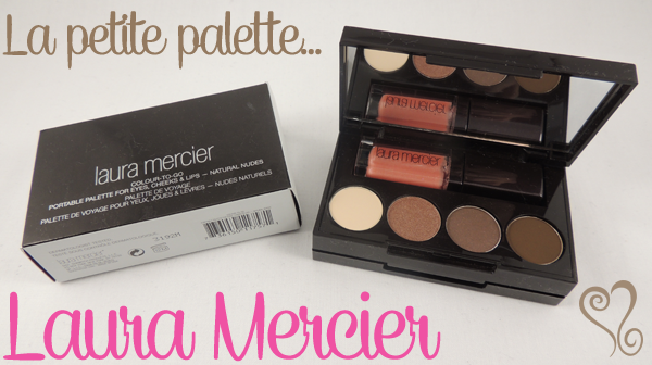 revue avis test palette colour to go laura mercier