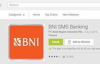 Cara Daftar Sms Banking Bni dan Langsung Aktivasi