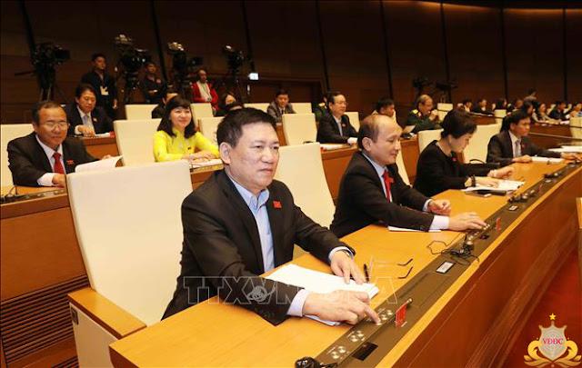 Quốc hội đã thông qua Luật Công an nhân dân sửa đổi