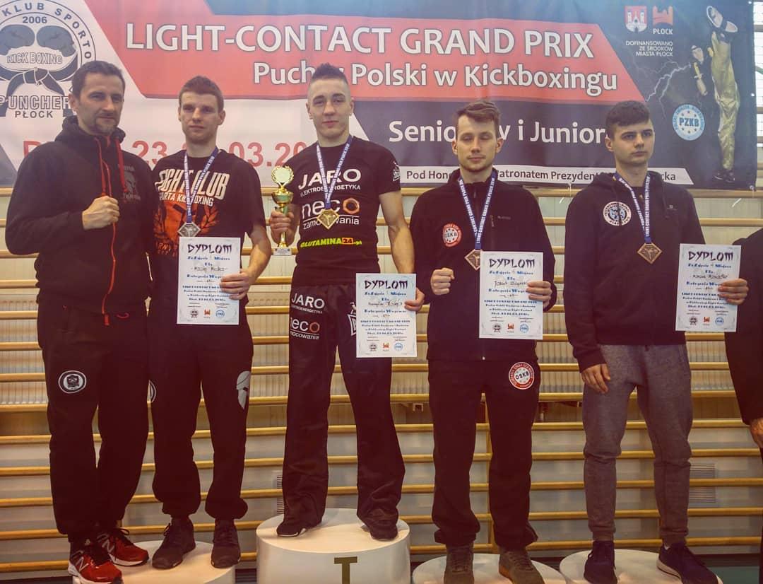 Wygrywamy na Grand Prix Light Contact Płock 2018!