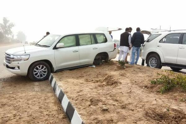 Ajay-chautala-car-accident