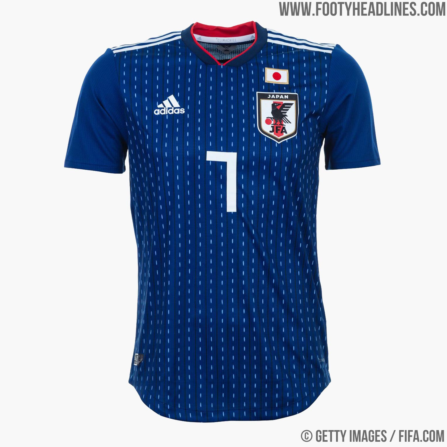 Japan 2018 World Cup Home Kit Buy now. Free worldwide delivery on all orders bce77d0c4