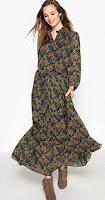 Robe longue Imprimée Cachemire See U Soon via La Redoute