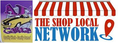 The Shop Local Network is excited to announced that AJ's Garage has become a Shop Local Mission Partner