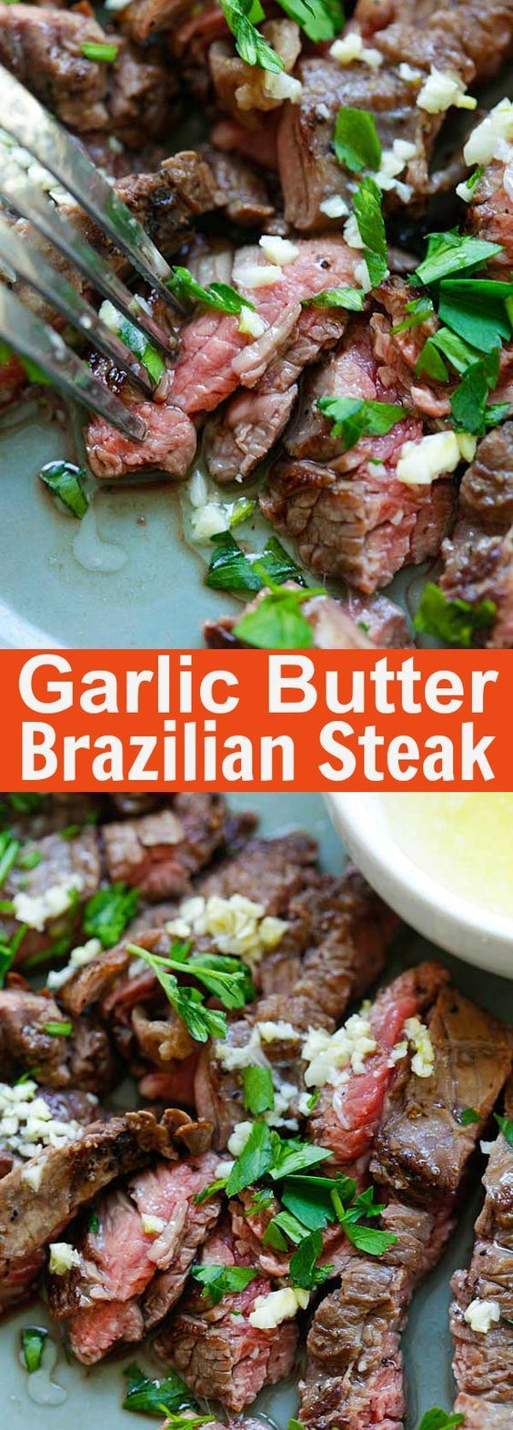 Garlic Butter Brazilian Steak Recipe