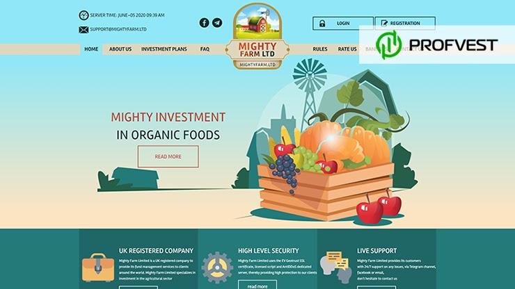 Mighty Farm LTD обзор и отзывы HYIP-проекта
