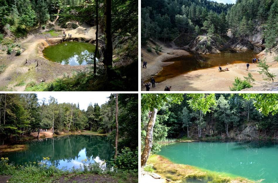 Kolorowe Jeziorka i Zapora Pilchowicka