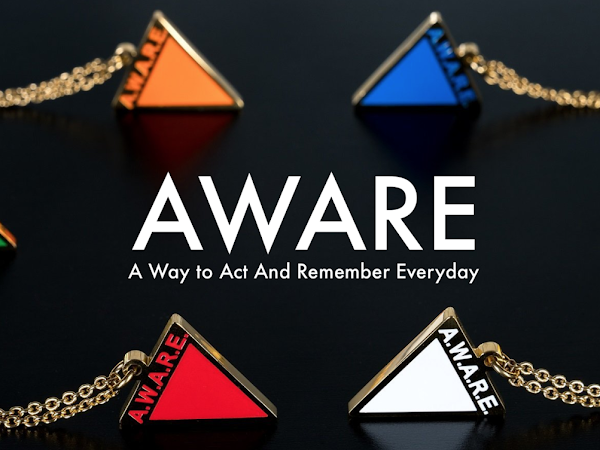 AWARE CAUSES NECKLACE // Starting the conversation