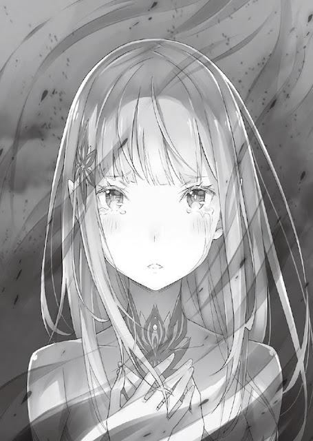 Penampakan Satella dalam Light Novel Re:Zero vol. 12