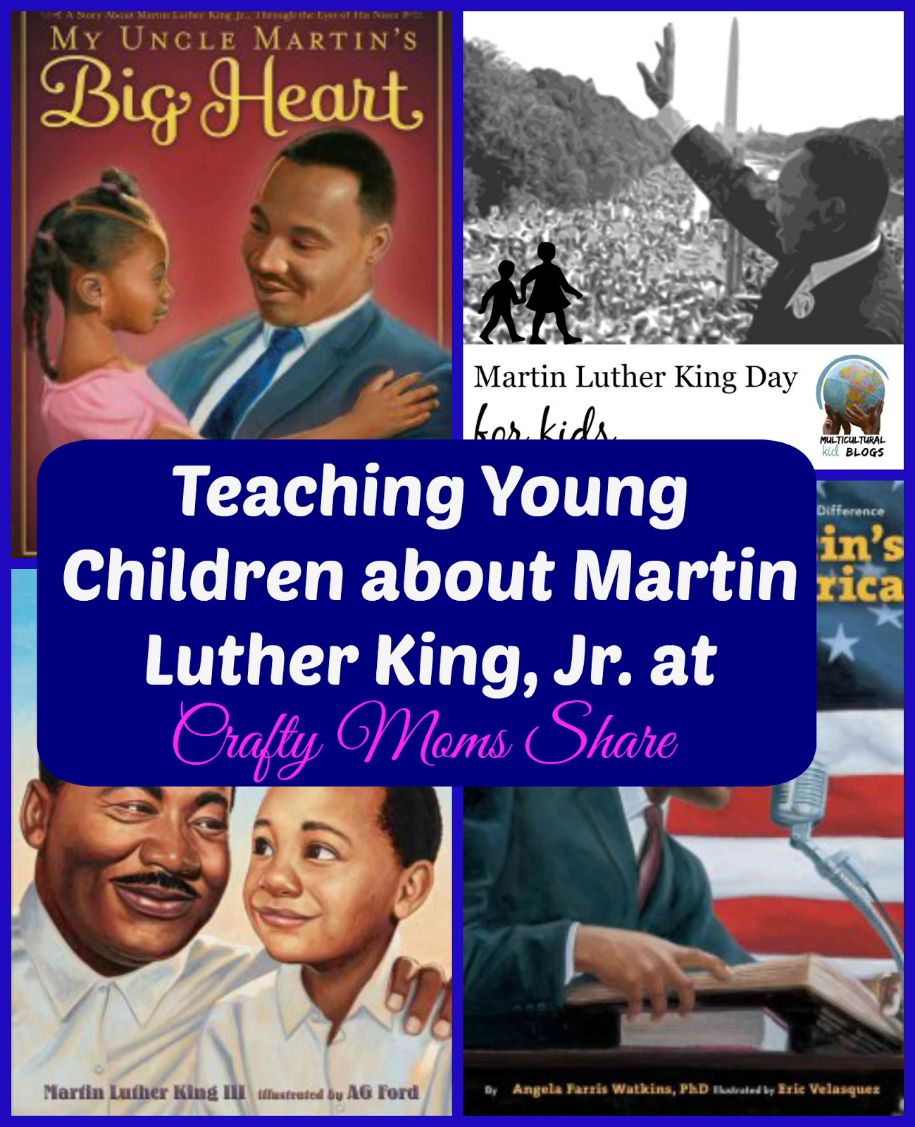 Crafty Moms Share Teaching Young Children About Martin