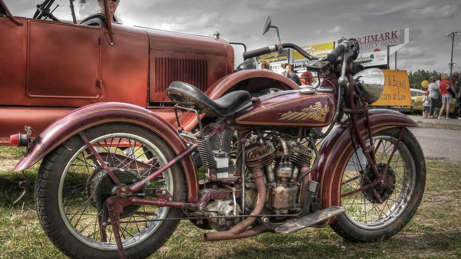 Indian Motorcycles: Moto Custom: HD Wallpaper
