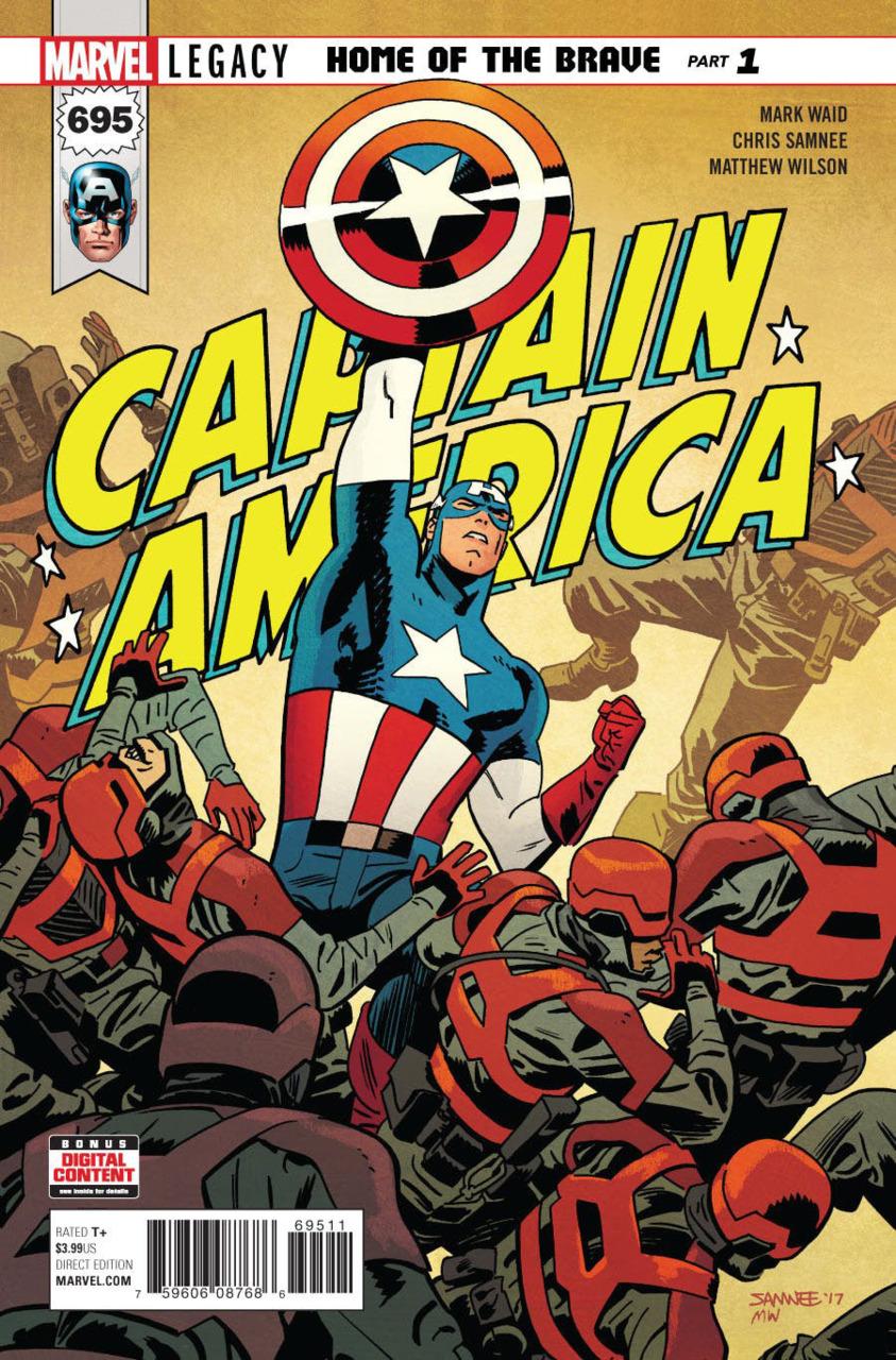 COMIC BOOK FAN AND LOVER: CAPITÁN AMÉRICA: HOGAR DE LOS VALIENTES ...