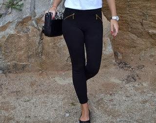 4 maneras de llevar... leggins negros