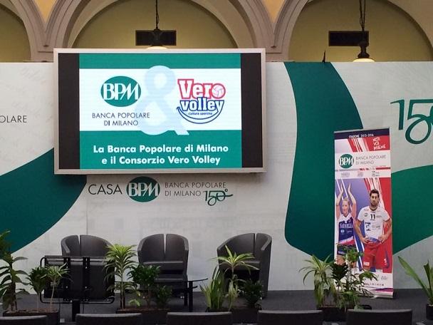 Consorzio Vero Volley Rinnova La Sponsorizzazione Con Banca Popolare