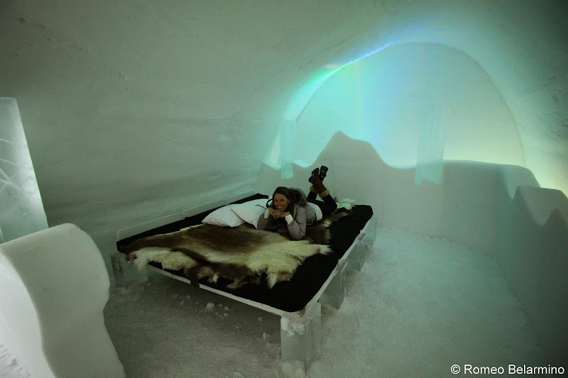 ICEHOTEL Northern Lights Room Sweden