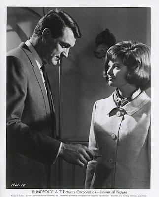 Blindfold 1965 Rock Hudson Claudia Cardinale Image 2