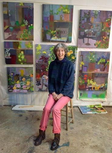 Artist Sara Hartland-Rowe.